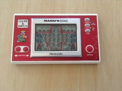 Nintendo Game And Watch Mario's Cement Factory (Widescreen)