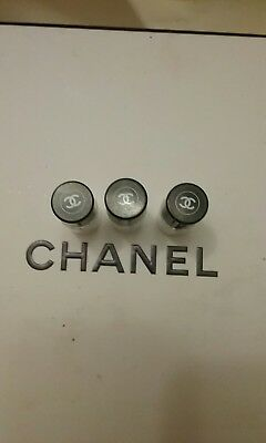 3 Chanel little glass perfume bottles. great for traveling.  Fixed Price