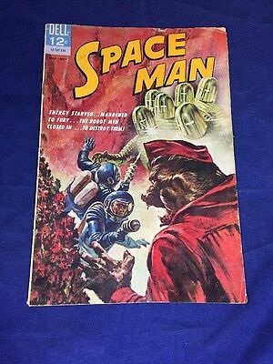 Space Man #4 Dell 1963 Higher Grade