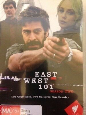 EAST WEST 101 - Season 2 2 x DVD Set SBS TV Exc Cond! Complete Second Series Two