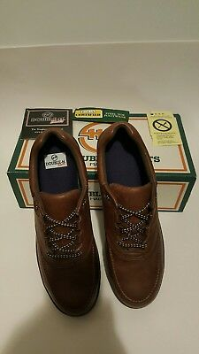 Double H Womens Leather Steel Toe ESD Work Shoes Size 10