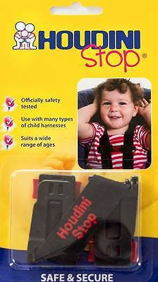 Genuine Houdini Stop Baby Car Seat Safety Harness Chest Strap Child Safety