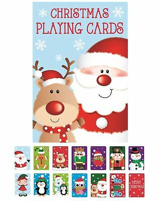 Christmas Snap Playing Cards