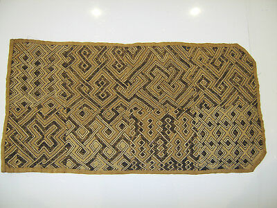Very Old Rare Antique Hand Woven Mat Tribal Rug - Zulu Native American Interest