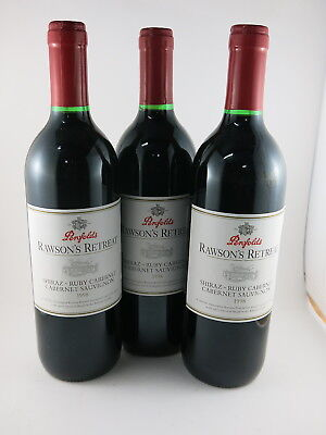 Penfolds Rawsons Retreat Red Blend 1998 x 3 From the famous 1998 Vintage
