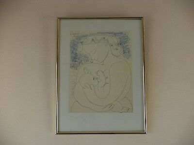 "PICASSO - ""MATERNITE' 1996"" - offset lithographie"