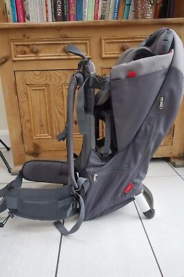 Phil & Teds Escape Baby / Child Carrier Grey