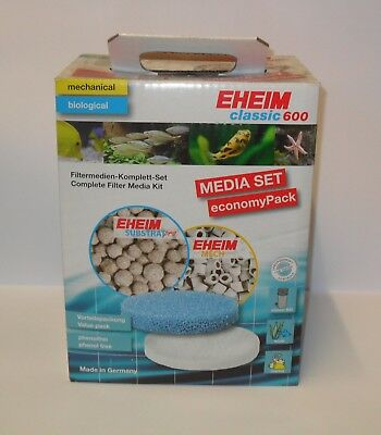 EHEIM CLASSIC MEDIA SETS. 2213. 2215, 2217, 250, 350, 600. External Filter Media
