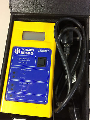 Seaward BR500 Power Disturbance Analyser 240Vac Circuits
