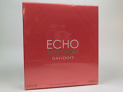 Davidoff Echo Woman Damen Eau de Parfum 100 ml EDP Neu