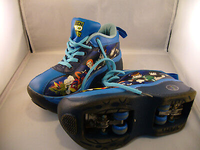Ben 10 Alien Force Roller Skate Shoes. Aus Size 3 Eur 35 Sh52