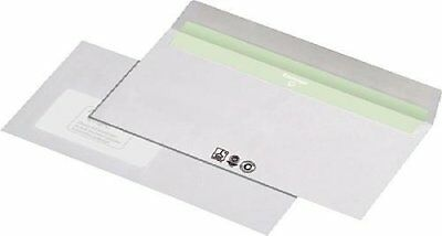 Unipapel 227540 Envelope DL production with Ökostrom Ökofarben, pressure, with