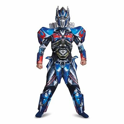 Transformers Movie 5 Optimus Prime Deluxe Child Halloween Costume Small 4-6