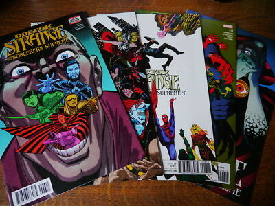 Doctor Strange and the Sorcerers Supreme comics #6 #7 #8 #9 #10 2017