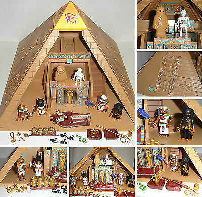 ** Playmobil 4240 ** Egyptian Pyramid ** 100% Complete ** Excellent Condition **