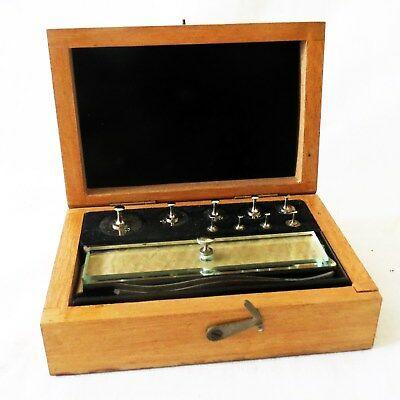 Very Nice Collectable Vintage Complete Cased Set Of Jewellers Weights