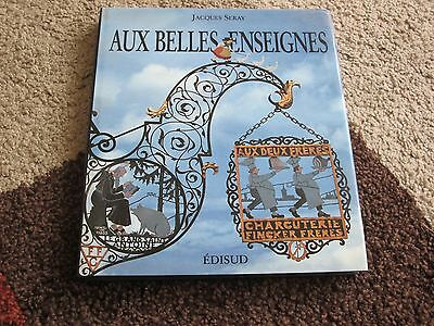 French book of Wrought Iron trade signs