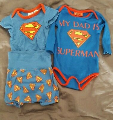 "Baby Body ""Superman "" Jungen gr 56"