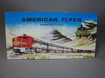 ALCO ABA Billboard face for American Flyer