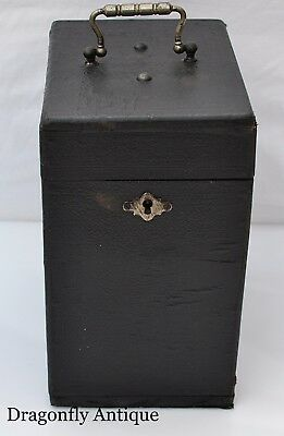 SUPERB Victorian French Parisian Medicine Chest Apothecary Box Medecine Nouvelle