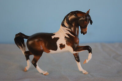 Donna Chaney Animal Artistry Prancing Arabian Stallion - Bay Pinto