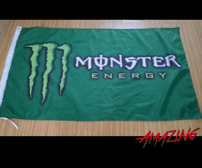 Monster Energy Flagge Fahne Banner Deko 90x150cm Drink Monster Army