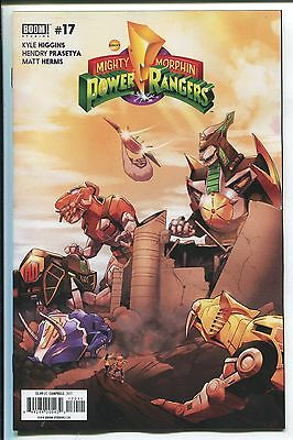Mighty Morphin Power Rangers #17 - Jamal Campbell Cover - Boom Comics/2017