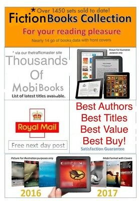 Books Collection suitable for Kindle, Kobo. In Mobi format. Nearly 14gb of data.