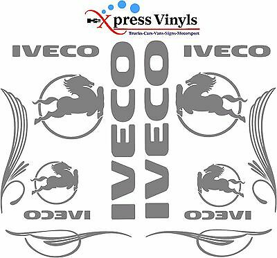 IVECO truck decal MEGA PACK vinyl glass and body stickers Stralis