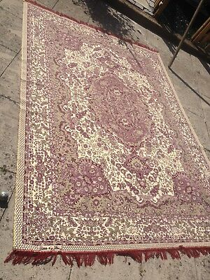 Beautiful patterned, double sided Persian rug 200cm x 280cm Perfect for a throw