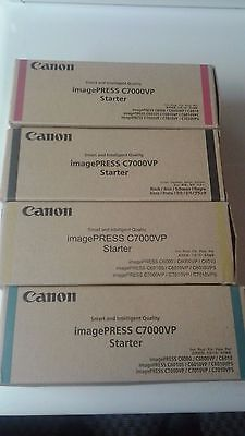 Canon C7000 Set of Four Starter M,C,Y,B