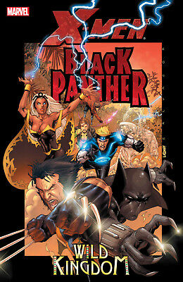 X-Men/Black Panther: Wild Kingdom (February 8, 2006) Brand New Trade Paperback