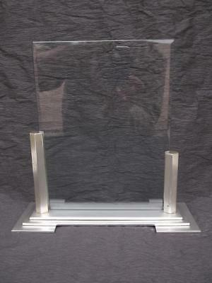 575 / WOODMET STYLISH 1950s ART DECO STYLE ALUMINIUM PHOTOGRAPH FRAME