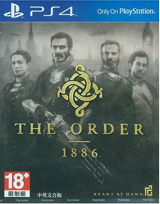 Brand NEW Playstation PS4 The Order 1886 Asian Chinese/English Version