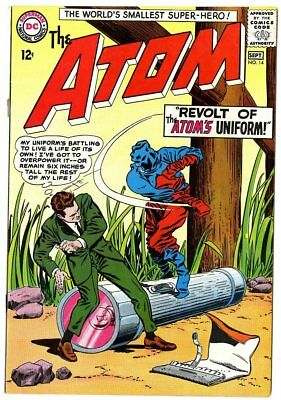 Atom #14 VF/NM 9.0 white pages  DC  1964  No Reserve