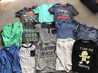 Boys Clothes Bundle Size 1 .5-2 Years Or 18-24 Months