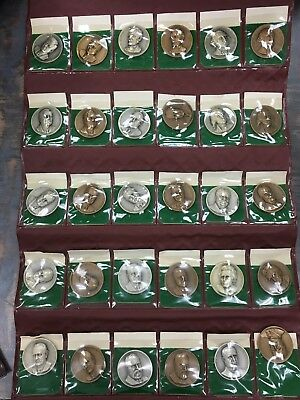 Medallic Art Presidential Medals 999 Silver And Bronze