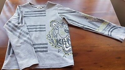 Boys Kenzo Long Sleeved T-Shirt - Age 8A