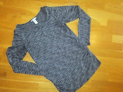 Mama H & M Size Medium Long Sleeve Shirt Black! Perfect for Maternity Wardrobe!