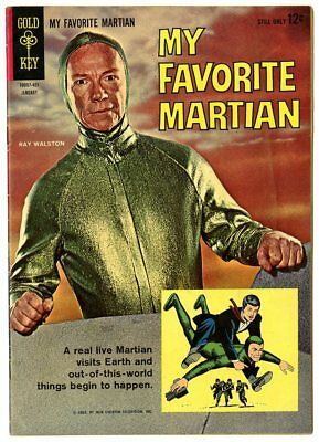 My Favorite Martian #1 VF+ 8.5  Photo Cover  Gold Key  1964  No Reserve