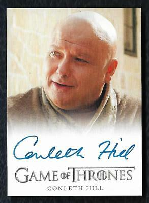2012 Game of Thrones Season 1 Autograph Conleth Hill as Lord Varys