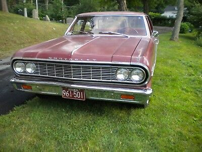 1964 Chevrolet Chevelle  1964 Chevrolet Chevelle Malibu all Original Survivor 42,000 Miles Drives Great