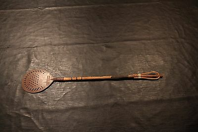 Vintage Rubber Neck Fly Swatter With Wooden Handle Circa 1934 Nice Condition Htf