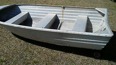 Tinny boat stacer starfish 3.5m roof topper