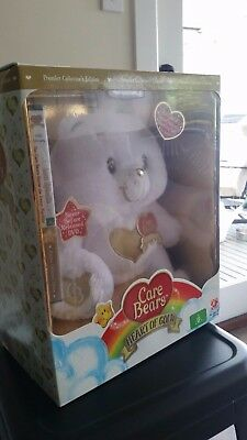 Care Bears Premier Edition 2008 Swarovski Crystal Boxed with DVD (White)