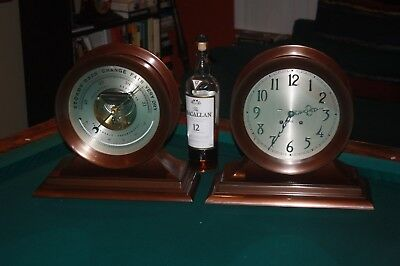 Chelsea Admiral Clock and Barometer 8 1/2 Inch models