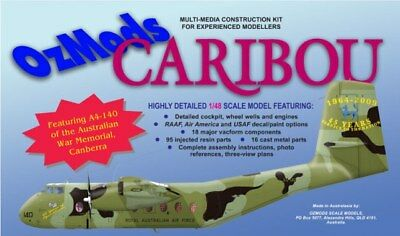 Ozmods 1/48 DHC-4 Caribou New Multi-media Model Kit