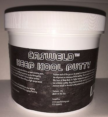 Casweld Keep Kool Putty Welding Heat Block Paste- 2lb