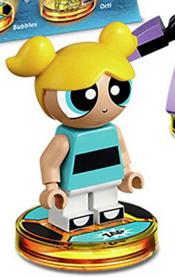 GENUINE Lego Powerpuff Girls BUBBLES Minifigure from 71346 Dimensions Team Pack
