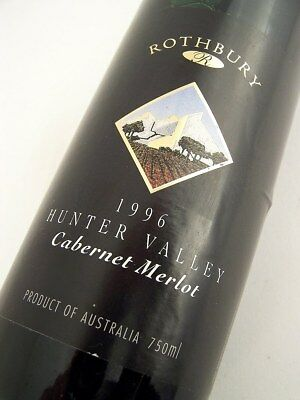1996 ROTHBURY ESTATE Cabernet Merlot Isle of Wine